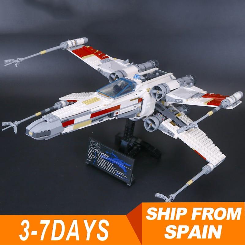 05039 스타 레드 5 x 날개 별 전투기 전쟁 모델 10240 빌딩 세트 블록과 호환 어린이 장난감 벽돌-에서블록부터 완구 & 취미 의  그룹 1