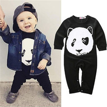 Panda Baby Boys Girls Infant One-pieces Panda Romper Jumpsuit Playsuit Outfits