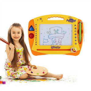 Kids sketching Writing Painting sketch Craft Fun Art Toys Magnetic Drawing Board for Boys Children