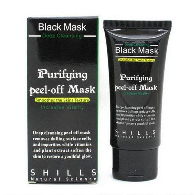 Черноголовых Удаления Маски Для Лица Глубокое Очищение Очищающий Пилинг Выкл Черная Nud Facail черная Маска