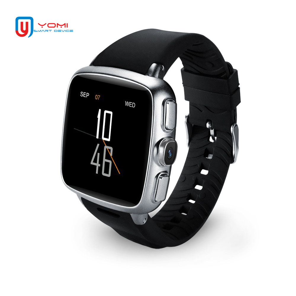 Android 3G Smart Watch Waterproof Bluetooth GPS Fitness Tracker Smartwatch Push Message Camera Bracelet Watch for Men Women image