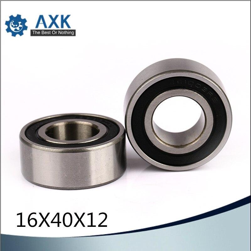 6203/16 2RS Não-padrão Rolamentos de Esfera 164012 16*40*12mm ABEC-1 (2 Pcs) Rolamento