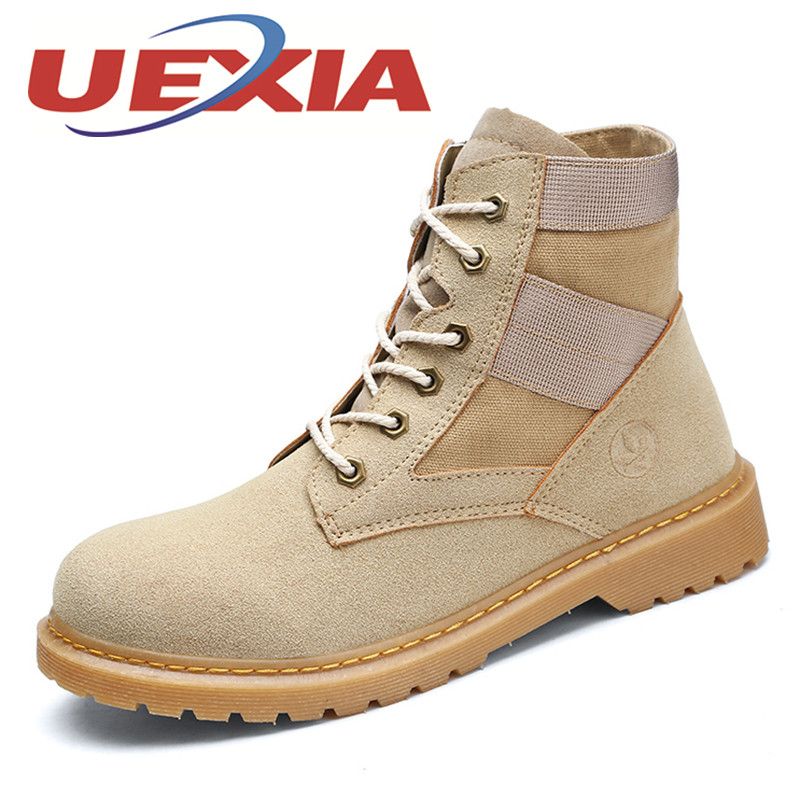 Size 35-44 Unisex Casual High Top Shoes Men Autumn Breathable Work Shoes Couple Martin Shoes Outdoor Fashion Flats Zapatos Mujer men ankle boots women casual shoes breathable fashion cushioning soles high top lovers outdoor shoes size 35 44 b2299
