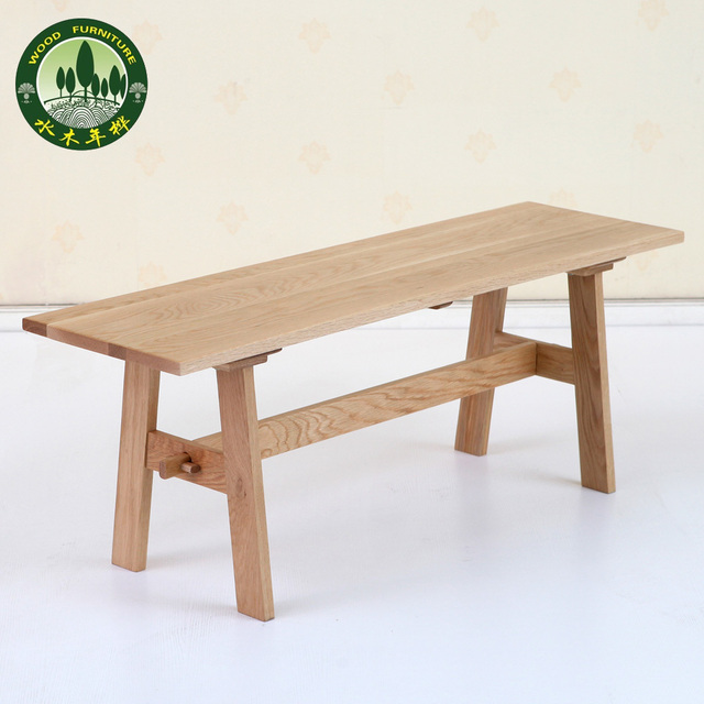 Mizuki en madera de abedul taburetes bancos de comedor de roble ...