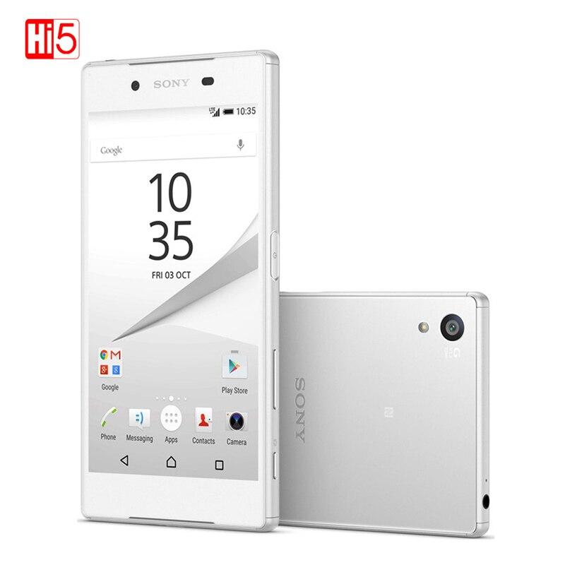 SONY Xperia Z5 Premium E6883 téléphone portable double SIM 5.5 ''IPS 4 K 2160*3840 23.0MP 4G FDD-LTE 3430 mAh