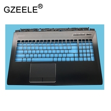 GZEELE New laptop Palmrest For MSI MS-16L2 GT62VR GT62 Upper Case Top Cover keyboard bezel shell black gzeele new for msi gl72 gp72 top cover palmrest upper case cover 307793c222p89