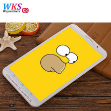 Original WAYWALKERS Tablet 2 LTE/WiFi 4GB RAM 64G ROM 8 inch Tablet PC Phone call Octa Core Android 5.1 GPS Dual SIM and Camera
