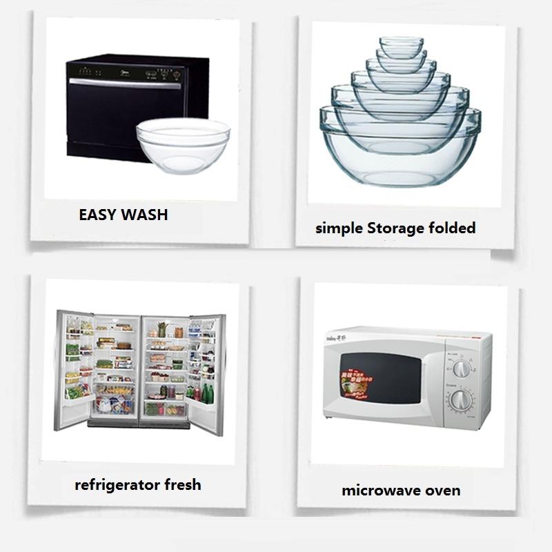 freies Verschiffen Glasschüsseln 5pcs / set rührende Schüssel - Küche, Essen und Bar - Foto 2