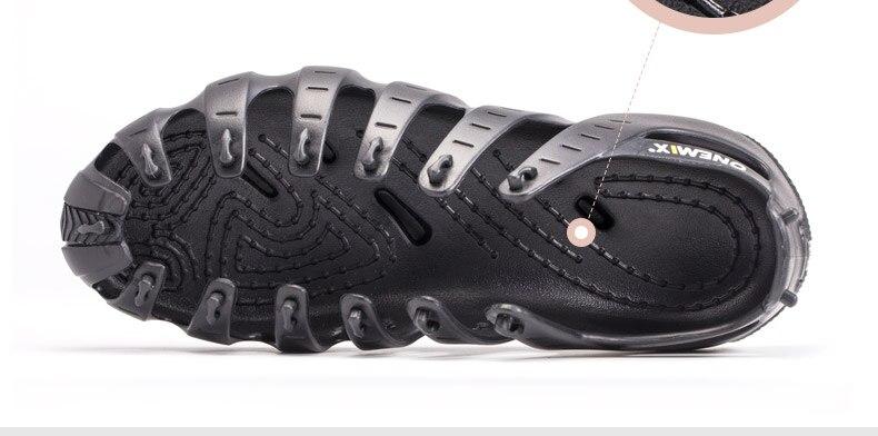ONEMIX Casual Sneakers zapatos multiusos para Hombre Zapatos Deportivos Unisex zapatillas para correr al aire libre calcetines de Yoga zapatos deportivos - 4