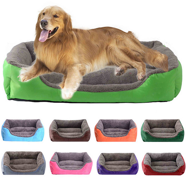 Pet Dog Bed Fall And Winter Warm Dog House For Small Dogs Large Dogs