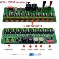 DMX 512 RGB LED Strip Controller 30 Channel DMX Decoder LED DMX Dimmer Driver DC 9V-24V ALI88