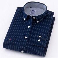 2018 New Arrived Long Sleeve Shirt Men Cotton Camisa Social Oxford Men S Shirts Men S
