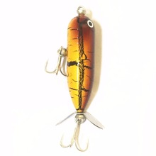 Pike Topwater Fishing Lure Popper Bait 10g 6cm Propeller Har