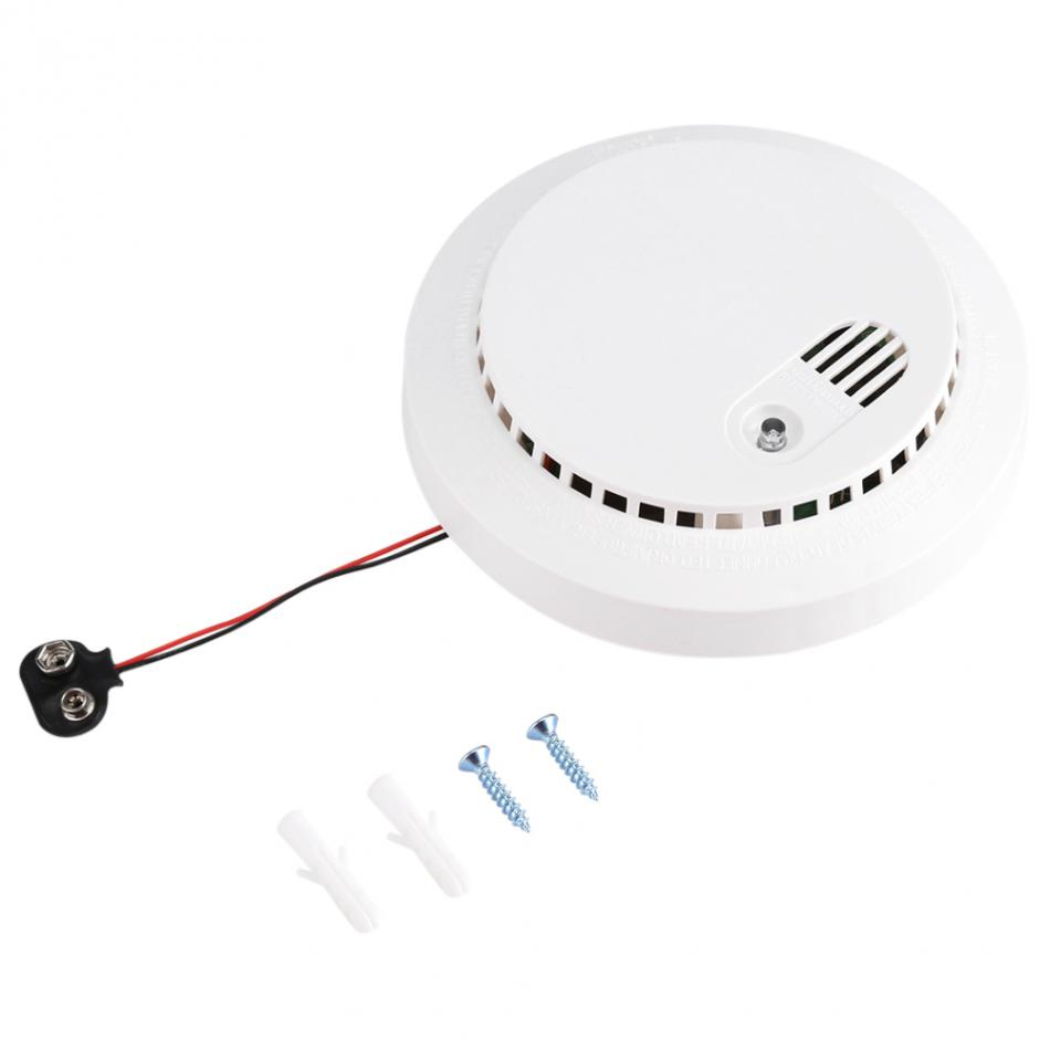 High Senstive Stable Wireless Smoke Detector Alarm Sensor for Home Office Factory Security