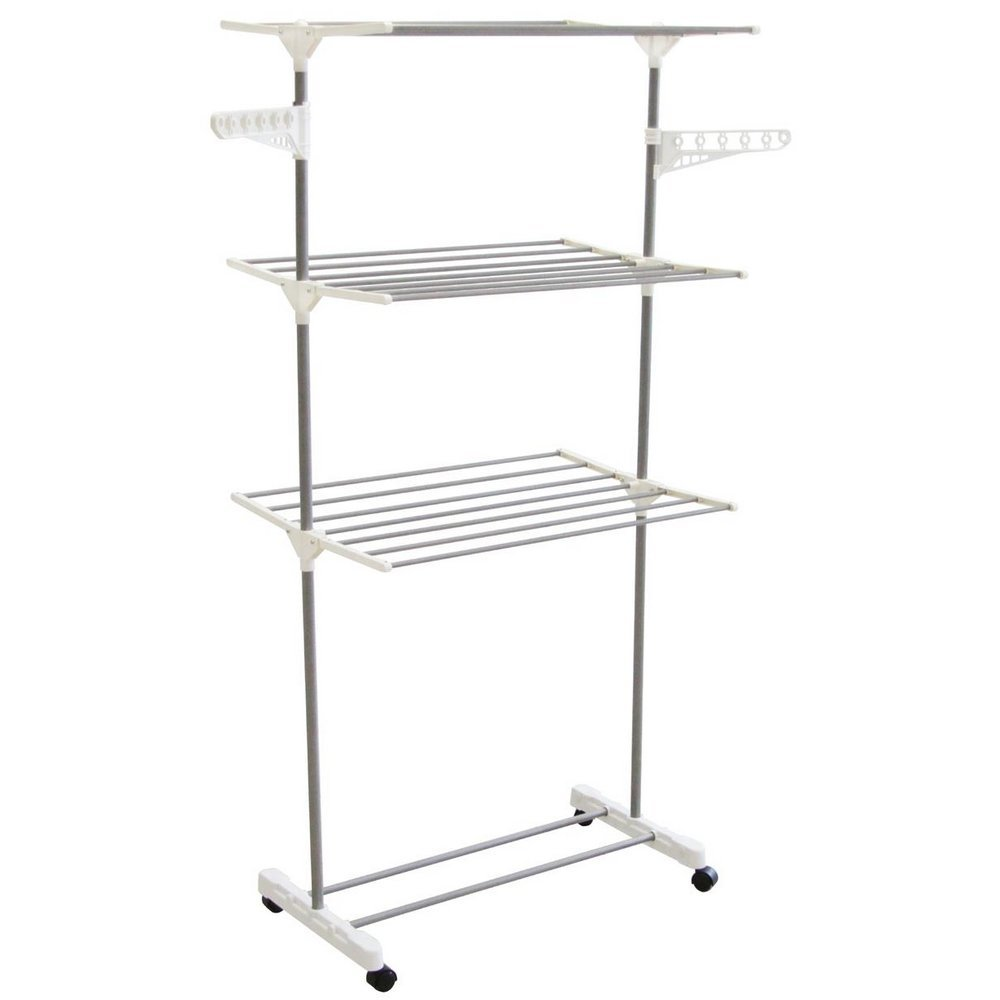 Foldable Laundry Clothes Drying Rack Home Household Cloth Shoes Hanger Home Furniture