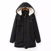 Dreamskull Women's Winter Hooded Coats Plus Size Fleece Lined Parkas Jacket