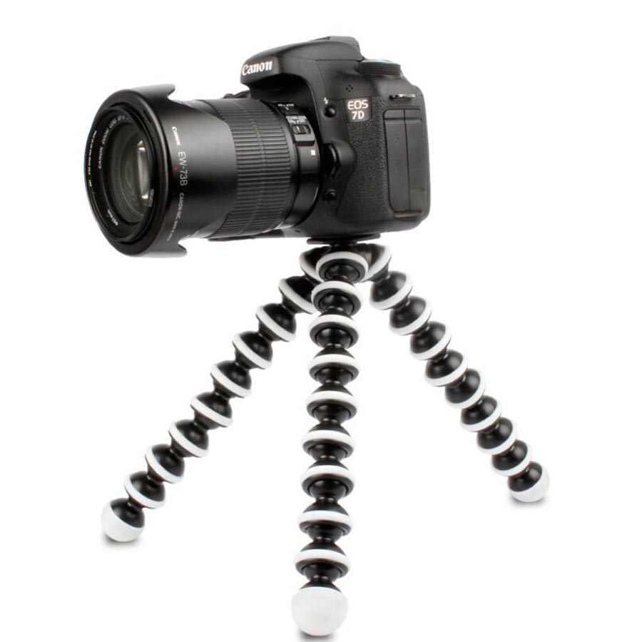 M L Средний Большой размер камеры Gorillapod штативы нагрузки 1,2G 3g гибкий монопод Штатив мини путешествия открытый цифровая камера s Hoder