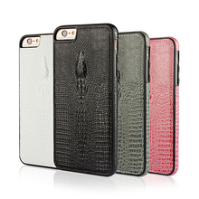 crocodile grain Leather phone case for iphone6s 4.7inch phone Leather cases for iphone 6s Mobile phone back cover