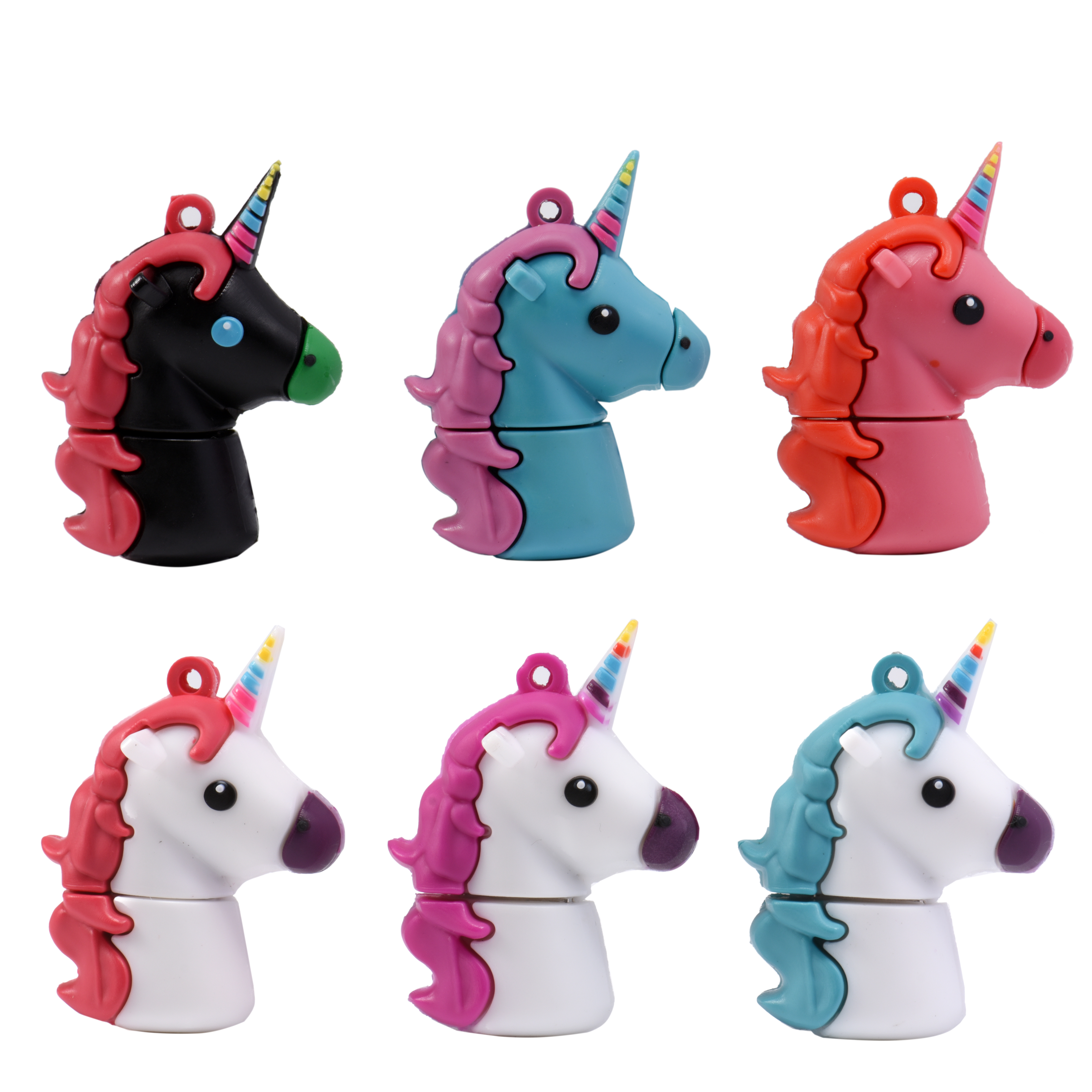 Hot Sale New Unicorn Despicable Me 2 USB Flash Drive 100% Genuine Cartoon Memory Stick Pendrive 4GB 8GB 16GB 32GB Pen Drive Toy