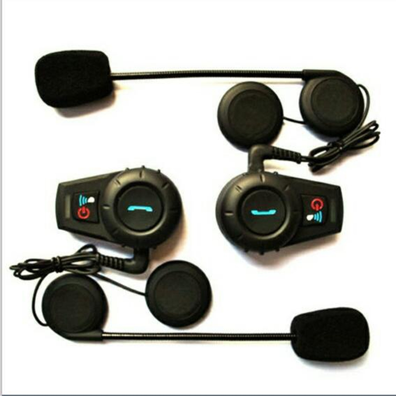 цена на Authroized Freedconn FM Radio BT Helmets Intercom motorcycle helmet earphone BT intercom 500m FDC-VB