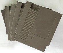 Cor cinza 72 Pinos Jogo Cartucho de Substituição De Plástico Shell Para NES Console