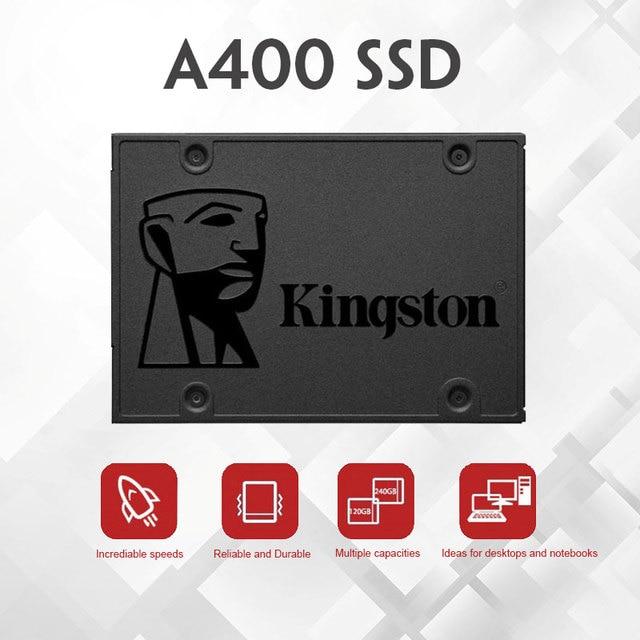 Kingston ssd 120gb 240 gb 480gb 960gb interno unidade de estado sólido sata3 2.5 polegada hdd disco rígido hd ssd para computador portátil computador portátil 3
