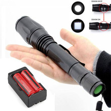 2500LM T6 XM-L LED Flashlight Torch Light +2X 18650 Battery+ Dual Charger BICYCLE LIGHT September4