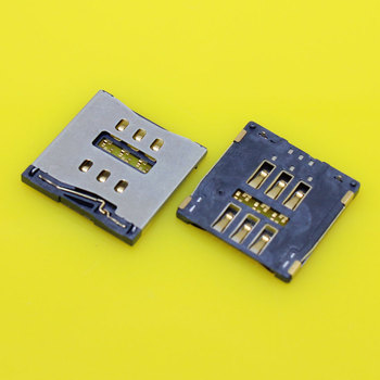 cltgxdd KA-046 Micro SIM Card Reader Slot Socket Connector Holder Replacement for iPhone 5S 5C image