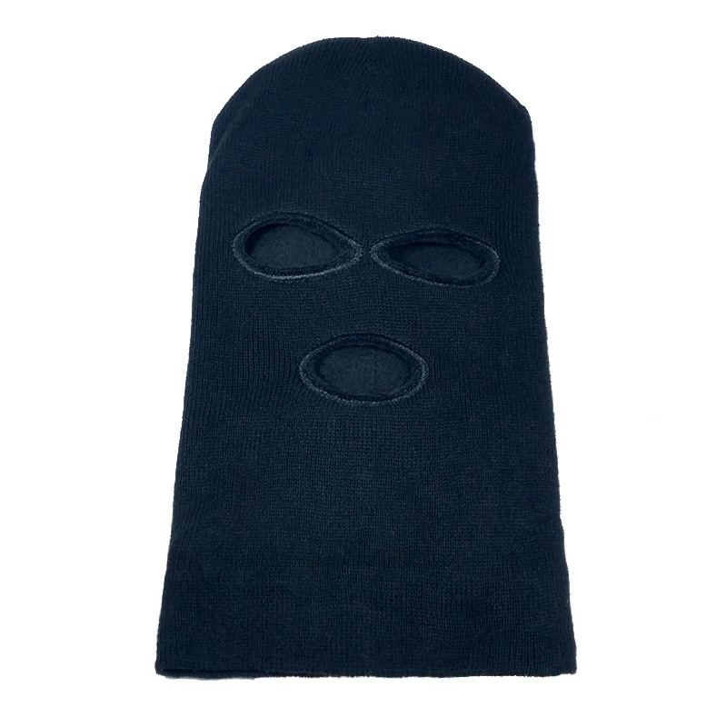 Men's Hats 2018 New Full Face Cover Mask Three Hat Winter Stretch Snow Mask Beanie Hat Cap New Black Warm Face Masks With The Most Up-To-Date Equipment And Techniques