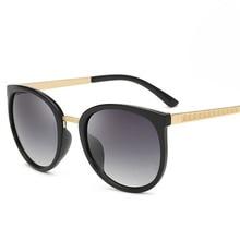 NYWOOH Classic Round Sunglasses Women Vintage Sun Glasses La