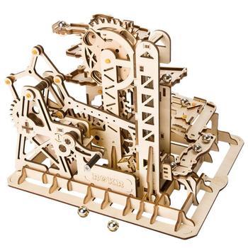 Creación Montaña Adulto Robotime Lg504 De Niño Asamblea Rusa La Mármol Torre Juguete Regalo Madera Modelo Kit Juego Pn0wk8O