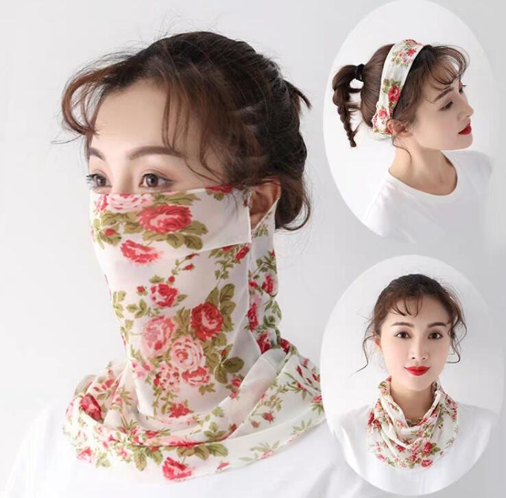 Women's Thin Sunscreen Breathable Masks Lady's PM 2.5 Mouth-muffle R1519