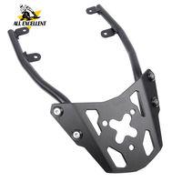 Motorcycle Aluminium Rear Rack Carrier Bracket Luggage Rack Black For Kawasaki Z650 2016 2017 2018 2019