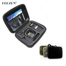 Bolso de mano con caja de Radio bidireccional para llevar a mano, para BAOFENG, UV 82, Motorola, GP328, caza