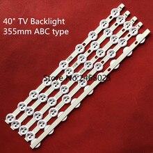 5Pcs 355Mm Abc Type Voor Lg 39 Tv 9FLHY168D 39PF3025D 39FHD CNOV LC 39LD145K VES390UNDC 01 VES400UNDS 02 Originele