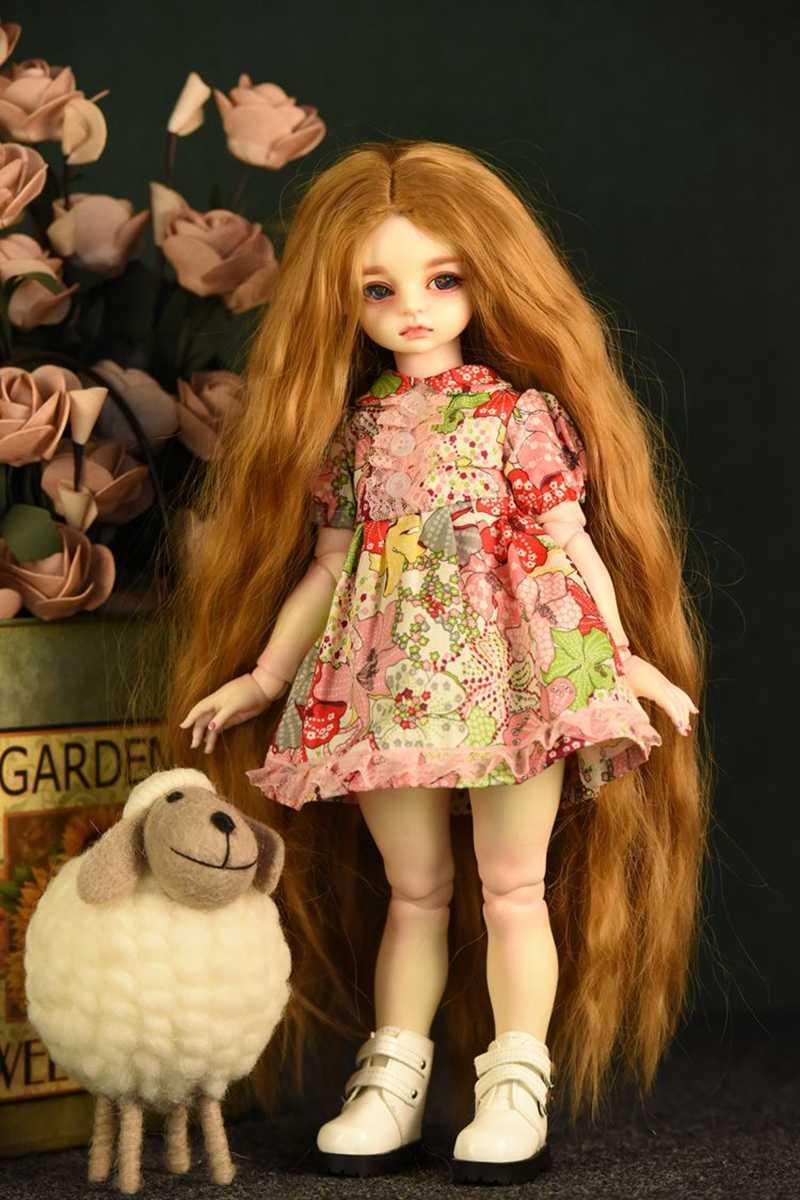1pcs Boneca Da Moda Vestido Ocasional Bonito Da Princesa Macacão Vestido Mini Saia Flor Vermelha Acessórios Da Boneca Roupas de Boneca Terno Menina presentes