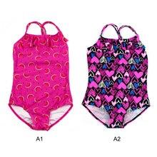 Girl Swimwear Bikini Beachwear One-Piece Baby Children New Princess Hot Lovely