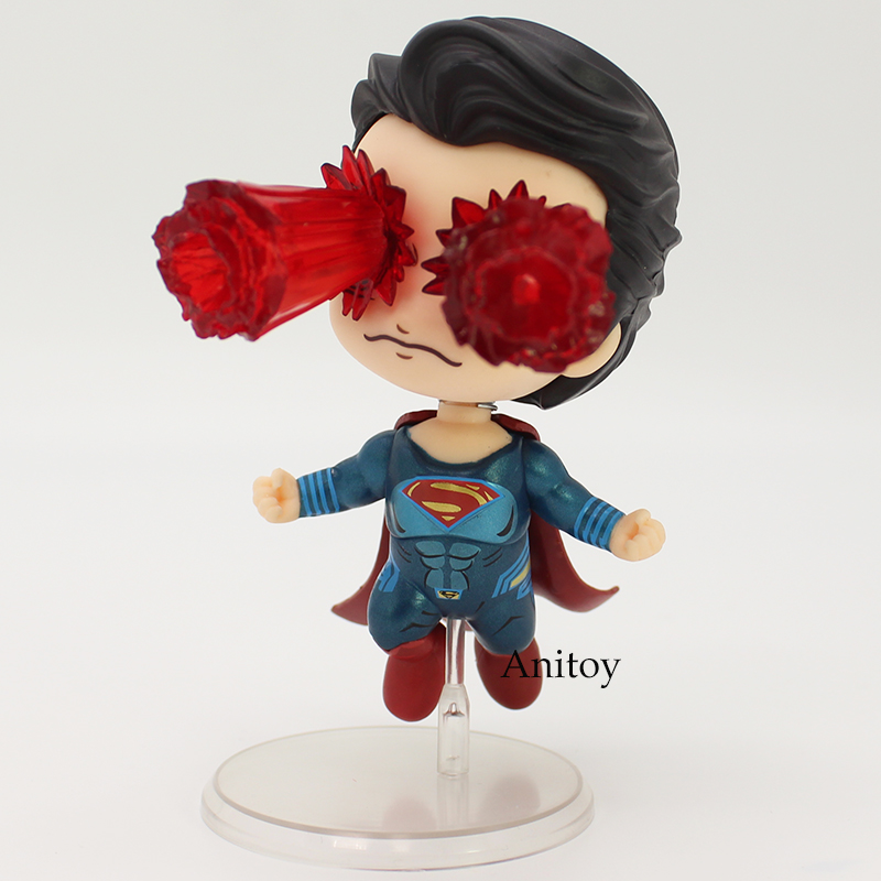Justice League Cosbaby Collectible Set Superman Laser Eyes Wonder Woman PVC Action Collective Figure Model Toy 2 Styles