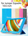 "New Fashion Solid PU Leather Flip cover Case For jumper ezpad4s 10.6"" cover for jumper ezpad 10.6inch stand holder case 10.6''"