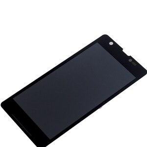 """Image 3 - 4.55 """"AAA M36h C5502 C5503 monitor LCD de Ecrã para Sony Xperia ZR componente de peças de reparo do digitador da tela de toque do telefone"""