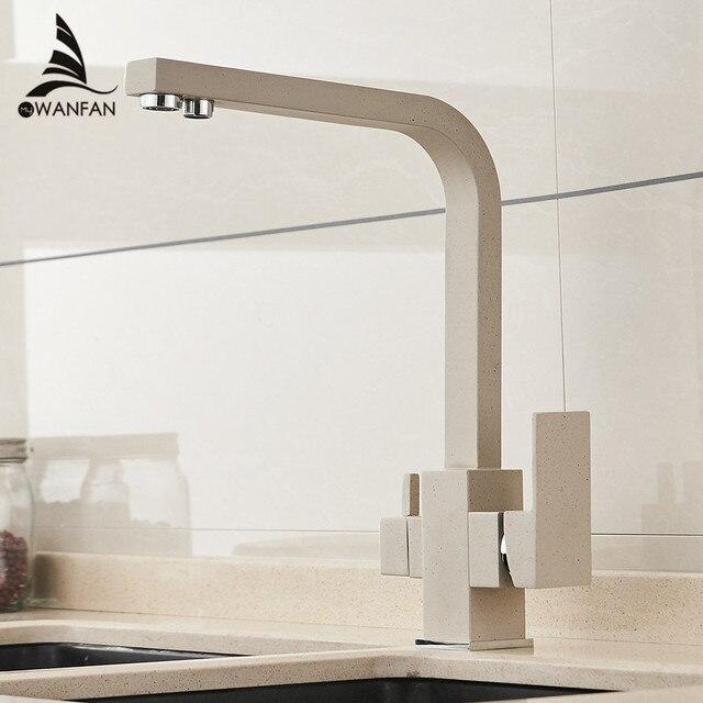 Robinets filtre à eau robinets de cuisine mélangeur en laiton cuisine potable purifier robinet évier de cuisine robinet d'eau robinet grue pour WF-0179 de cuisine