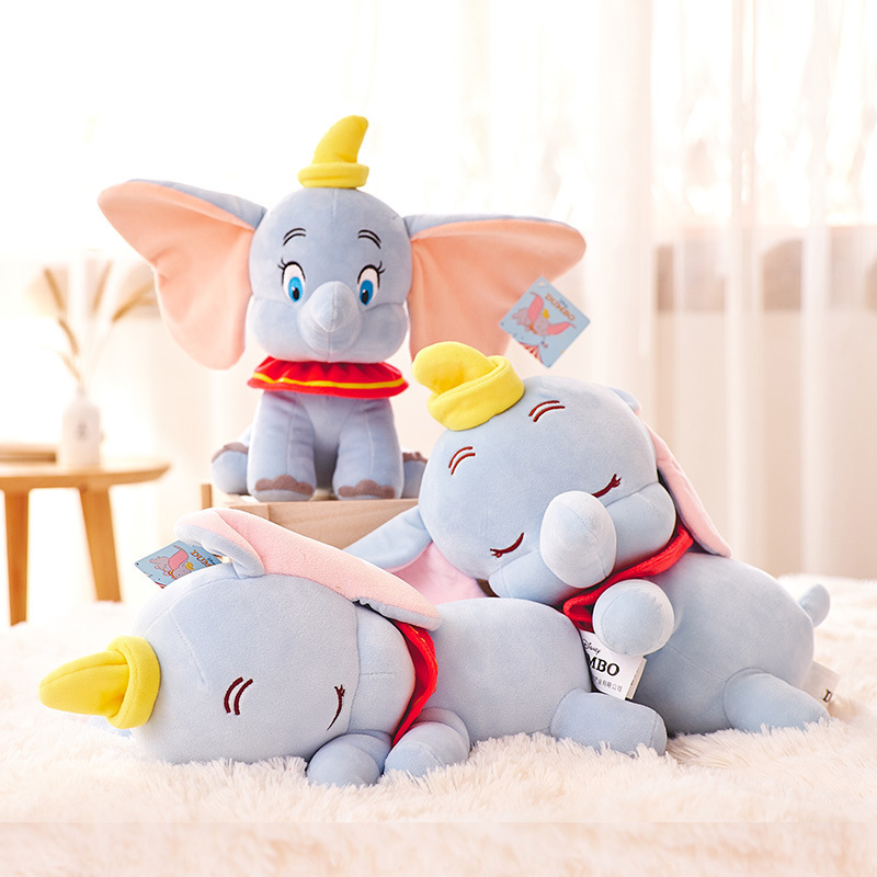 Dumbo Peek A Boo Elephant Toys For Children Soft Plush Girls Kids Stuff Stuffed Pillow Cushion Anime Cartoon Gift