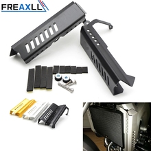 MT09 FZ09 Aluminium Radiator Grille Guard Cover For YAMAHA 2014-2015 Grill Protection Accessories