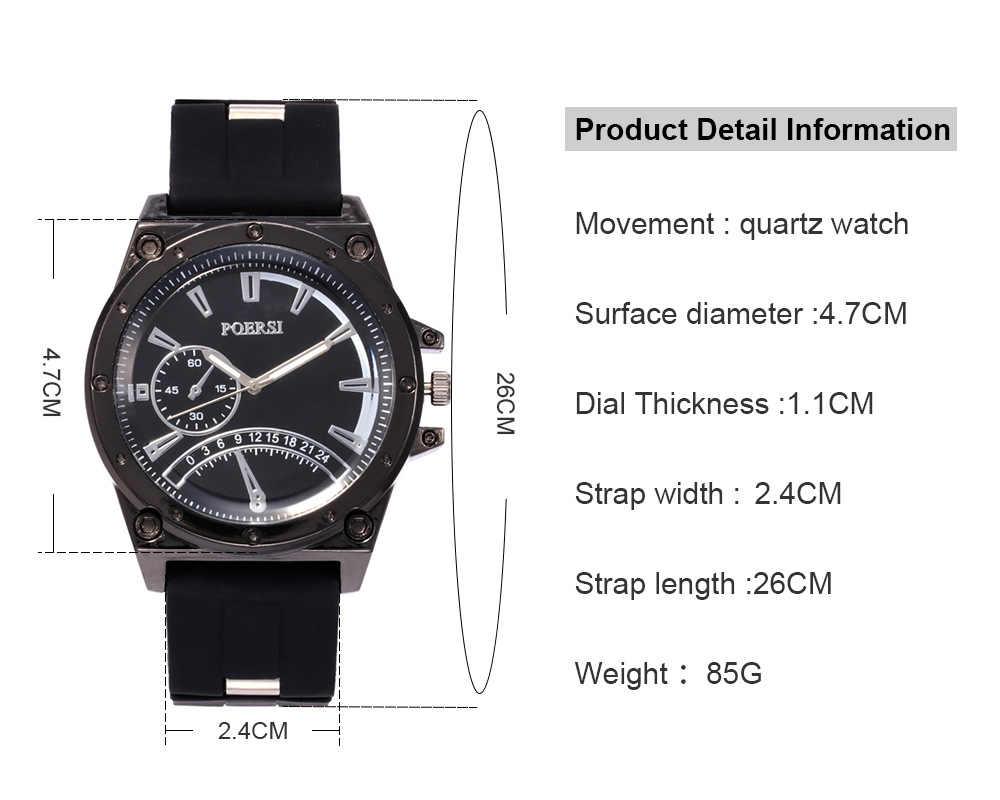 2019 новая спортивная одежда для гор восхождение Хождение Для мужчин наручные часы, силиконовый ремешок Аналоговый диск кварцевые часы Reloj Hombre подарок