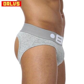 Marke Mode Heißer Elastische Beliebte Marke BS Unterwäsche Atmungsaktive Baumwolle Sexy Homosexuell Spandex Cueca Hombr Männer Unterwäsche OR103