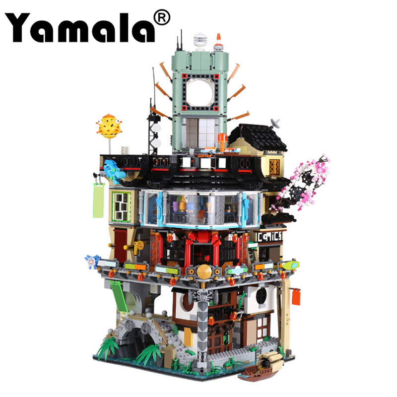 Building Toys Teens : Yamala compatible legoingly ninjagoingly city building