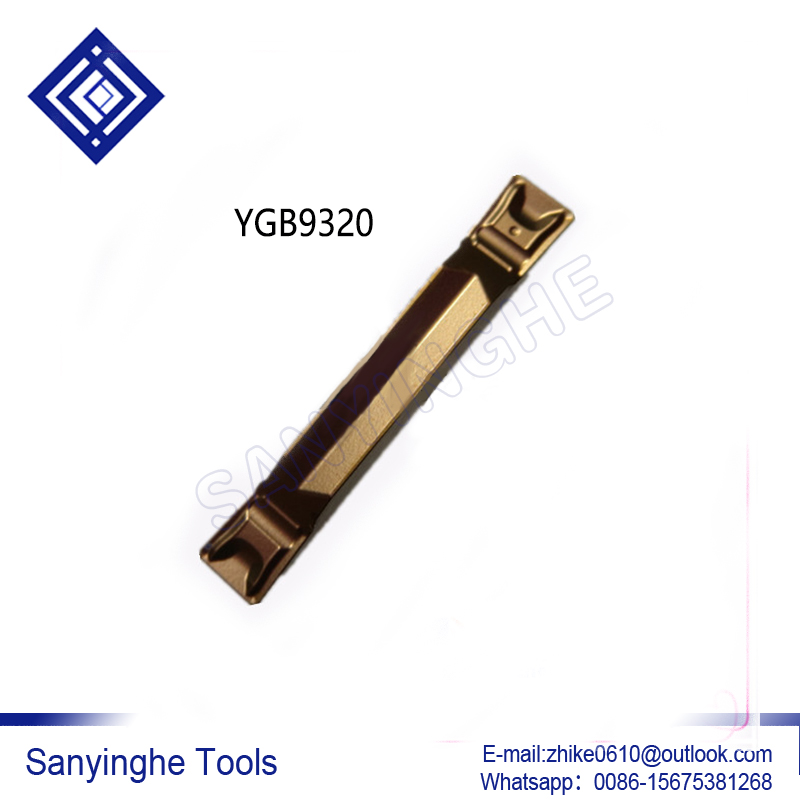 free shipping high quality sanyinghe 10pcs lots YB9320 ZTGD0404 MM cnc carbide turning inserts parting grooving