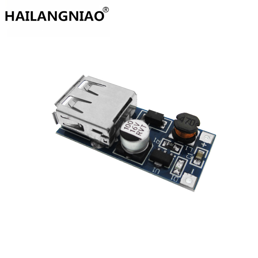 10pcs DC-DC Boost Module Power Supply Module 0.9V ~ 5V to 5V 600MA USB Mobile Power Boost Circuit Board