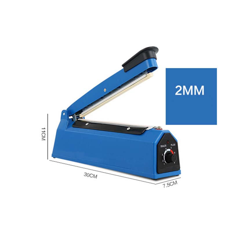 1pcs hand pressure Food bag sealing machine manual Plastic bags aluminum foil tea coffee heating impulse sealer packer 220V