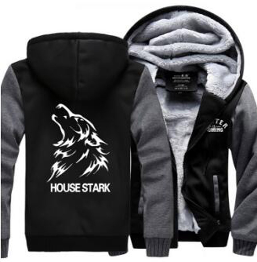 Hot 2018 di Nuovo modo Americano bodybuilding nero Con Cappuccio Logo Inverno spesso Pile Mens Felpe giacca abbigliamento manica lunga